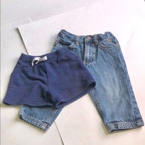 18 month Jeans & Sweat Shorts